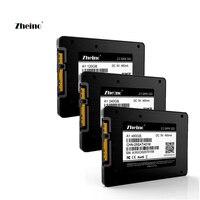 2.5 Inch SATA3 120gb 240gb 480gb SSD Hard Dirve Zheino High speed 2D MLC NAND Flash Memory A1 Internal Solid State Disk Drive