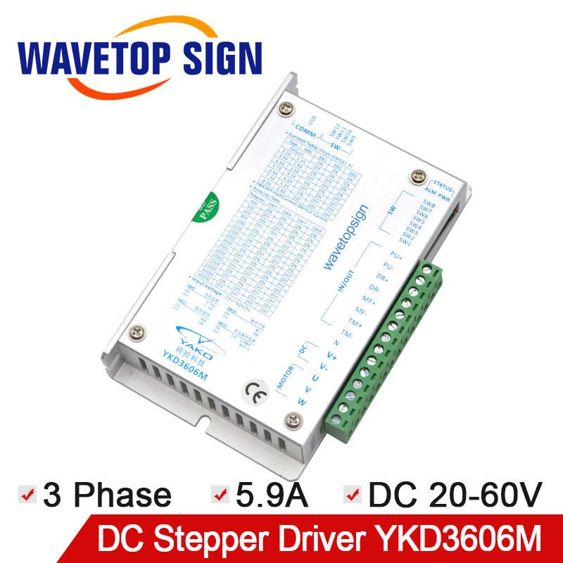 Yako Latest Version Stepper Motor Driver YKD3606M Yako Stepper Driver use for Replace Old Version YKA3606MA 20-60VDCYako Latest Version Stepper Motor Driver YKD3606M Yako Stepper Driver use for Replace Old Version YKA3606MA 20-60VDC