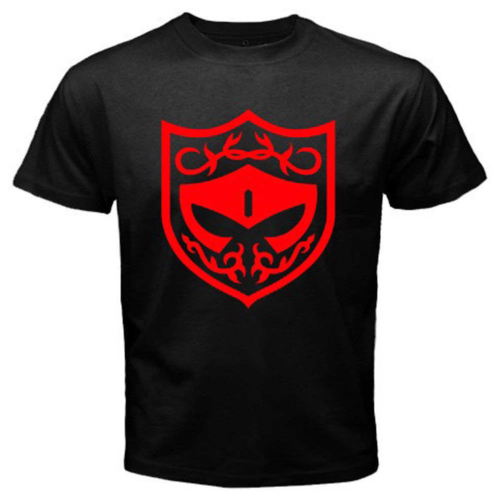 New KAMEN RIDER GAIM Baron Team Logo Mens Black T-Shirt Size S to 3XL