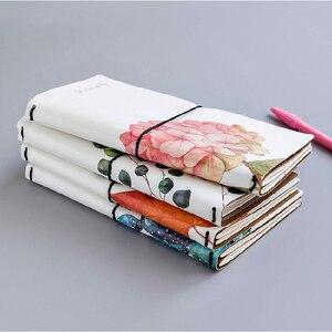 Image 3 - Kawaii милый цветочный лист блокнот, канцелярские товары, дневник, карманный блокнот, еженедельник, книга для путешествий, школьные офисные принадлежности sl2056