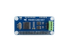 RS485 CAN HAT for Raspberry Pi Zero/Zero W/Zero WH/2B/3B/3B+,onboard CAN controller: MCP2515,485 transceiver: SP3485,