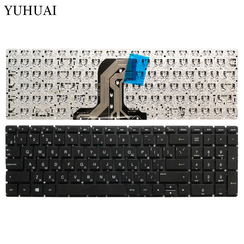 New RU Laptop keyboard For HP TPN C126 TPN C125 HQ TRE no Frame Teclado Russian Keyboard-in Replacement Keyboards from Computer & Office on