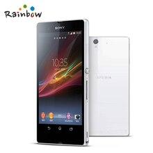 "100% Original Sony Xperia Z L36h C6603 C6602 Mobile phone 5.0"" TouchScreen Quad-Core 2G RAM 16GB ROM with 13.1MP Camera"