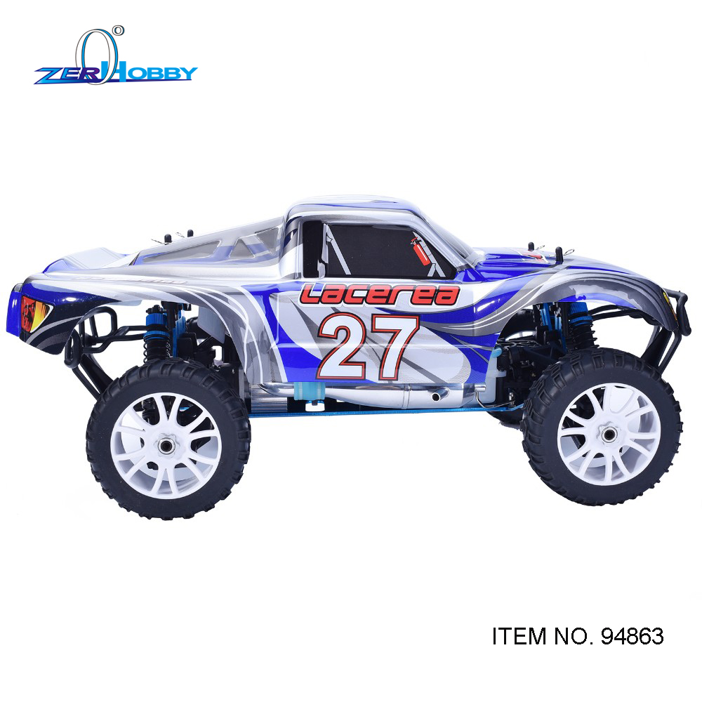 HSP 1/8 LACEREA 94863 RC CAR TOYS NITRO POWERED SHORT COURSE 4WD OFF ROAD TRUCK WITH 18CXP ENGINE STARER NOT INCLUDED двигатель super tigre 18 nitro купить