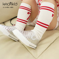 0-6 Years Cotton Kids Socks Designer No. 7 Sport Style Boys Girls High Socks Baby Leg Warmers Casual School Socks