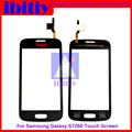 Для Samsung Galaxy S7262 GT-S7262 S7260 GT-S7260 Touch Screen Digitizer Датчик Переднее Стекло Объектива черно-Белый