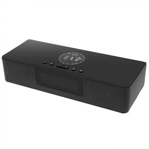 Image 3 - BS 39A built in microfone bluetooth soundbar alto falante com qi sem fio de carregamento e display led inteligente para telefone/pc/tv