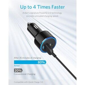 Image 3 - Anker 49.5W PowerDrive Speed + 2 USB C chargeur de voiture, un Port 30W PD pour MacBook iPad iPhone & 19.5W Port de Charge rapide pour S9/S8 etc.