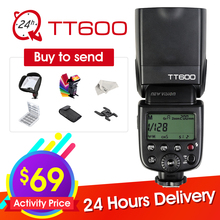 New Godox TT600 2.4G Wireless GN60 Master/Slave Camera Flash Speedlite for Canon Nikon Pentax Olympus Fujifilm + Six Big Gift
