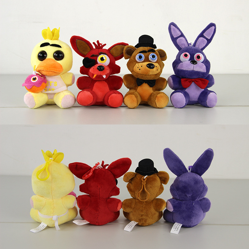 Five Nights At Freddy's 4 FNAF Freddy Fazbear Peluche Freddy Bear Bonnie Chica Foxy Kawaii Plush Toys Doll Brinquedos for Gifts