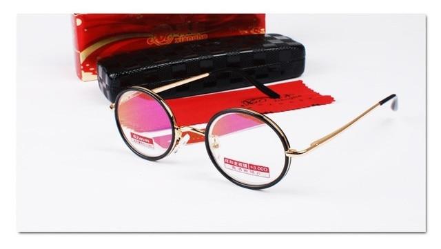 VINTAGE 40S Round UPPER CLASS Senator's Frame Spectacles Custom Made prescription lens myopia glasses Photochromic -1 to -6