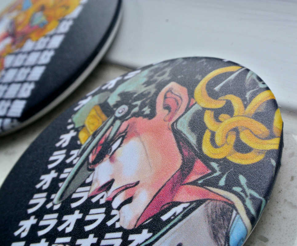 JoJo/'s Bizzare Adventure Danny Brooch Anime Alloy Badge Pin Cosplay Ornament