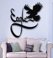 Wall Sticker Vinyl Decal Eagle Bird Animal for Kids Baby Room Nursery