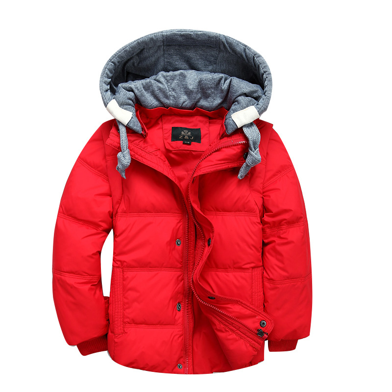 Children Winter Jackets for Boys Baby Girls Parka Coat Kids Duck Down Coats Warm Hooded Toddler Outerwear Overcoat DQ181 winter baby jackets outerwear casual toddler girls coats cute style cotton thick hooded coat children down outerwear