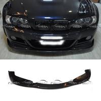 For HAMANN Style E46 Spoiler Car Styling Carbon Fiber Rear Lip Diffuser Bumper for BMW E46 M3