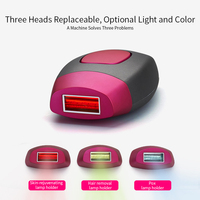 Mini Handheld Laser Epilator Depilador Facial Permanent Hair Removal Device Whole Body Laser Hair Remover Machine 600000 Flashes
