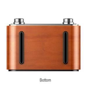 Image 5 - خشبيّ لاسلكيّ ساعة تنبيه سمّاعات بلوتوث متعدد الوظائف المكونات في بطاقة كمبيوتر مكبر صوت محمول الصوت والفيديو معدات