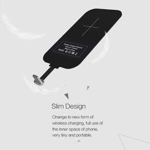 Image 2 - Pour iphone 6 S/7/7plus meizu oneplus Nillkin universel Qi chargeur sans fil récepteur chargeur adaptateur récepteur Micro interface USB