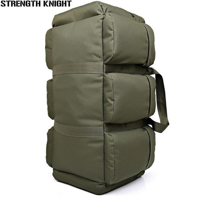 1558348bde 90L Large Capacity Men s Military Tactics Backpack Multifunction Waterproof  Nylon Hike Backpacks Wear-resisting Travel