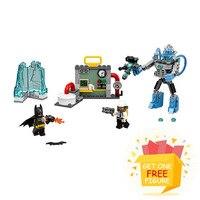 Бела pogo Совместимость legoe 10628 Бэтмен Ice атаки супер героев Marvel Мстители Строительные Конструкторы Кирпичи игрушки для детей
