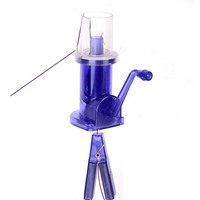 DIY Hand operated Easy Simple Weaver Knitting Tool Crafts Sewing Mill Spool Knitter Wool Winder CP186