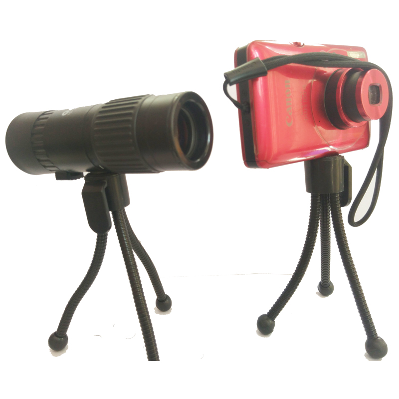 Low price monitor head tripod camera telescope mini stand adjustable tripod free shipping 10x25mm mini folding binoculars telescope 101m fieldof view with tripod adaptor free shipping