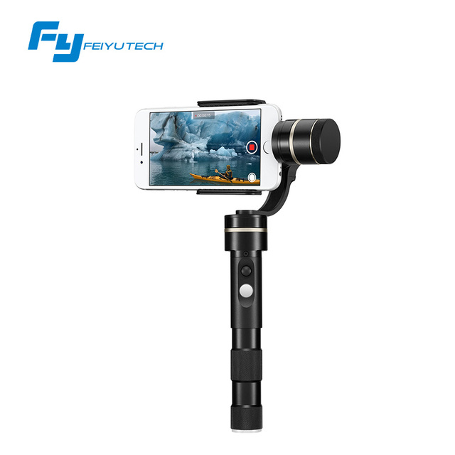 FeiyuTech official store newest 3 axis brushless motor handheld pan moving without limited G4 Pro gimbal / stablizer