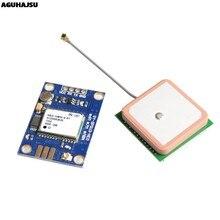GY-NEO6MV2 novo NEO-6M módulo gps neo6mv2 com controle de vôo eeprom mwc apm2.5 grande antena para arduino