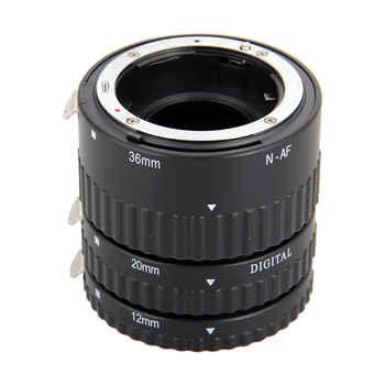 Meike Auto Focus Macro Extension Tube Set 12 20 36mm Adapter Ring For Nikon D3100 D3200 D5000 All DSLR AF AF-S DX Camera Lens - DISCOUNT ITEM  30% OFF Consumer Electronics