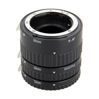 Meike Auto Focus Macro Extension Tube Set 12 20 36mm Adapter Ring For Nikon D3100 D3200 D5000 All DSLR AF AF S DX Camera Lens