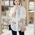 Woman Embroidery Casual Shirt