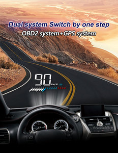 Image 2 - M7 OBDHUD Head Up Display  Universal Car Hud OBD Plus GPS speedometer Windshield Projector On board Automatic Computer