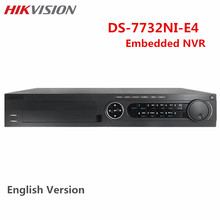Hikvision 32CH CCTV NVR DS-7732NI-E4 Up to 6MP Onvif 4SATA HDD Network Video Recorder Surveillance System For IP camera