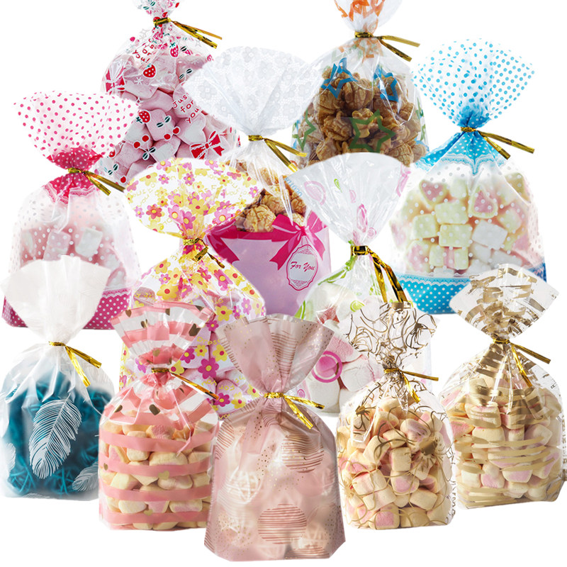 12 Style 50pcs Wedding Favors Gift Bag 20*28cm Large Colorful Plastic Bag Biscuits Cookies Candy Bag For Christmas Birthday Part12 Style 50pcs Wedding Favors Gift Bag 20*28cm Large Colorful Plastic Bag Biscuits Cookies Candy Bag For Christmas Birthday Part