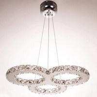 Chandelier crystal luster led 110V220V Nordic Modern Chandeliers Light Lighting Pendent Lamp Living room lights