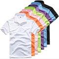 2016 Ralphmen Camisa Поло Мужчины Рубашка мужская Мода Поло Рубашки Мужчин Высокое Качество Розничная Camisa Поло Mascu MT212