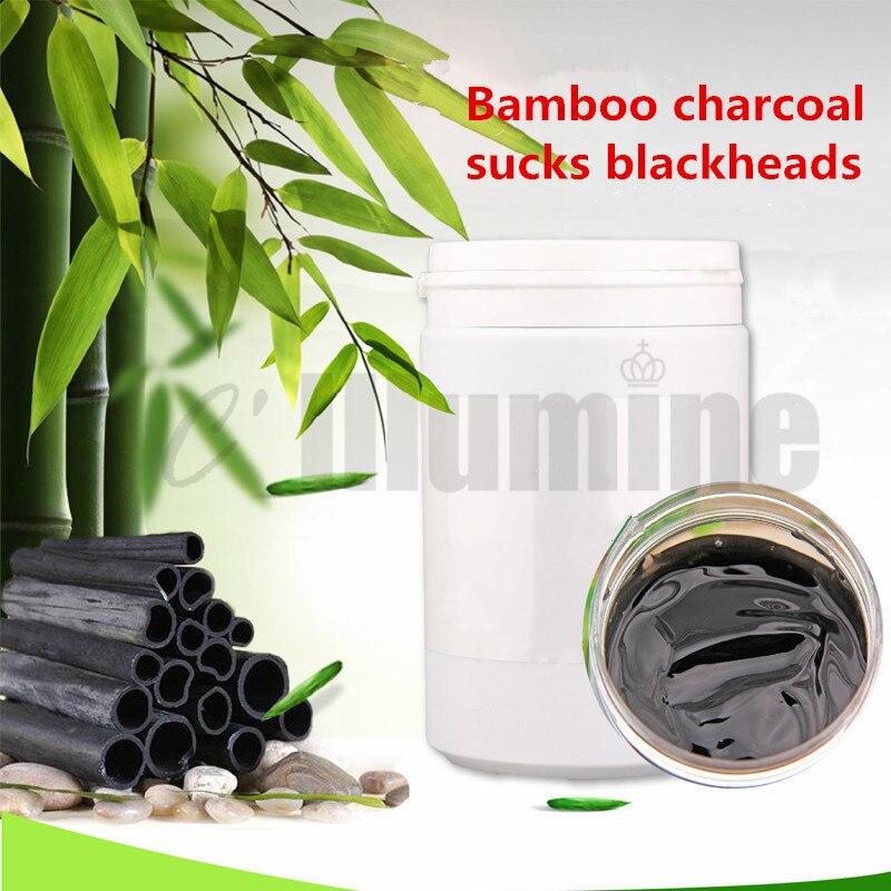 Carbón de bambú Deep Blackhead fresa cabeza película limpieza profunda acné negro limpiador de poros 1000g