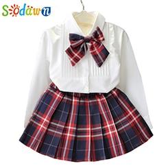 Sodawn-M-dchen-Kleidung-Sets-Stil-Mode-M-dchen-Kleid-Set-Wei-es-Hemd-Top-Plaid.jpg_640x640