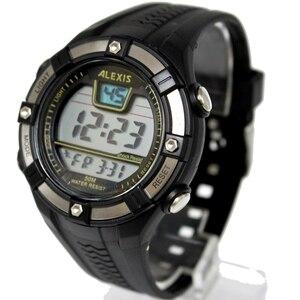 Image 1 - Moda esporte masculino relógios digitais resistente à água 3atm alexis marca homem data alarme backlight relógio digital dw381b