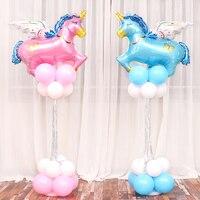 Hayvan Balon Kırmızı Horoz Folyo Balonlar Çocuk Doğum Günü Klasik Oyuncaklar Balon Helyum Parti Süslemeleri Baloes Cock Ballon
