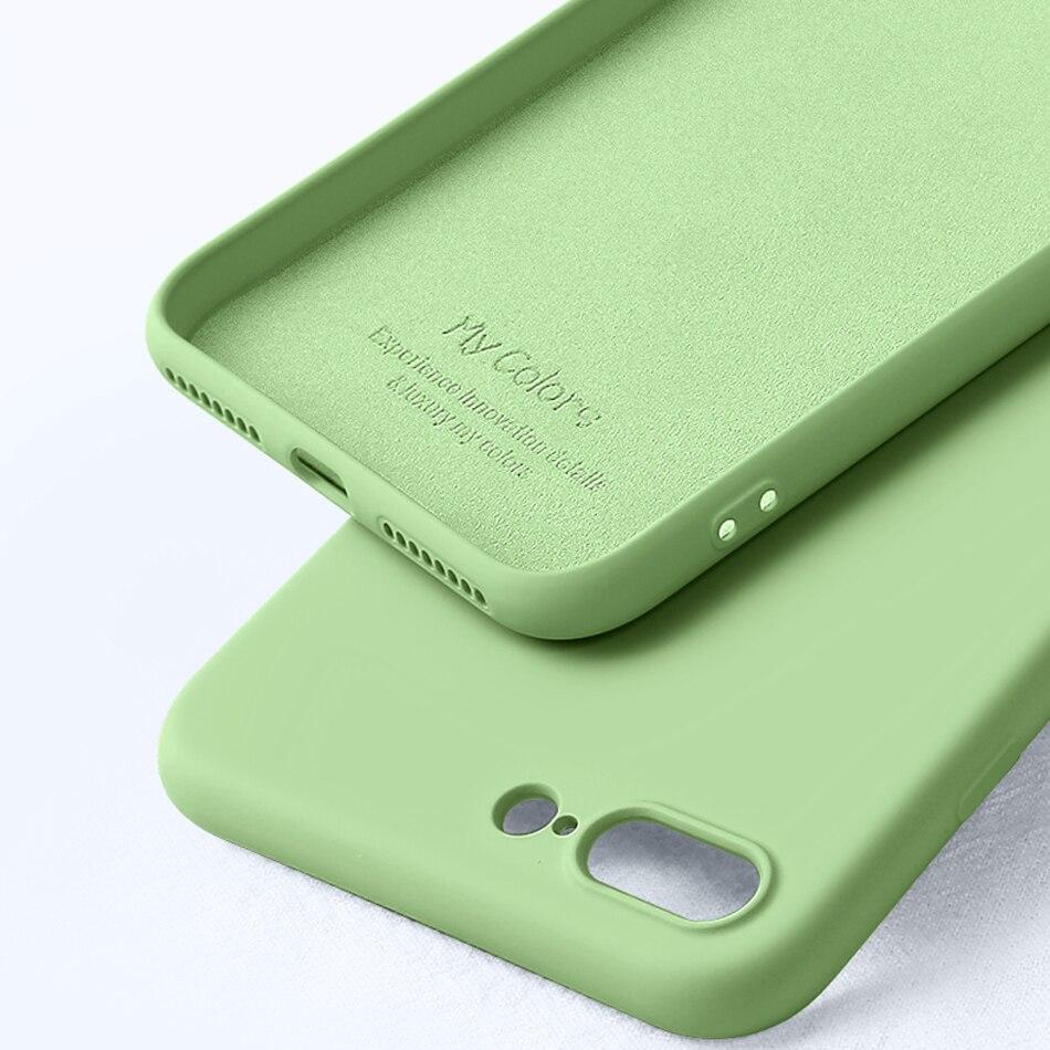 Tpu mjuk kantfodral stötfångare för iphone 7 7Plus väska - Reservdelar och tillbehör för mobiltelefoner - Foto 3