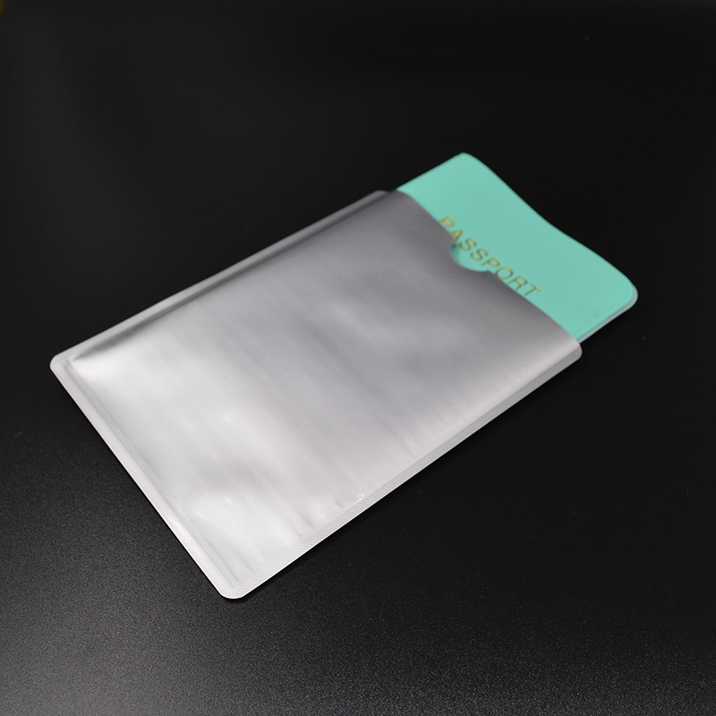 Aluminum Anti Rfid Blocking Passport Cover New Rfid Passport Holder Wallet and Card Protector Rfid Blocking Passport Cover Rfid rfid transponders