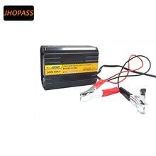 Display LCD 6/12 V 10A Motocicleta/Carro carregador de interruptor Manual para 2AH-80AH bateria inteligente carregador de bateria de chumbo
