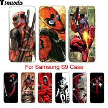 Yinuoda Comics Deadpool Muster Stil Luxus Zubehör Shell Original Fall Für samsung galaxy s8plus s9plus s7 s6 rand plus s5(China)
