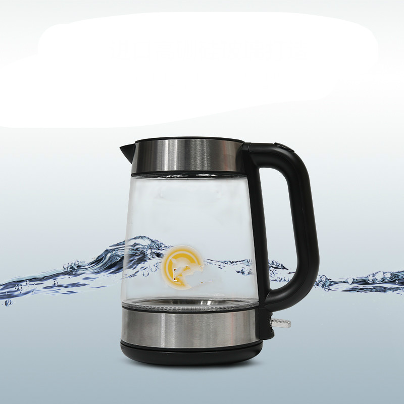 Electric kettle electric has power supply 1.7l Safety Auto-Off Function glass electric kettle automatic power supply kettles automatic power supply safety auto off function