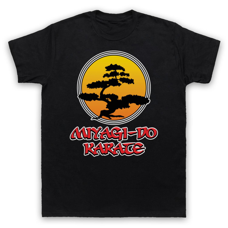 Для женщин Футболка MR Мияги сделать логотип KARATE KID неофициальный дерево бонсай футболка взрослых