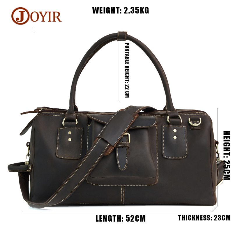 JOYIR Shoulder-Bag Travel-Bags Handbag Tote Luggage Large Luxury Brand Men