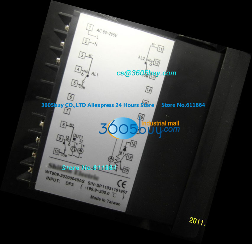 Thermostat WT909-20200003AS