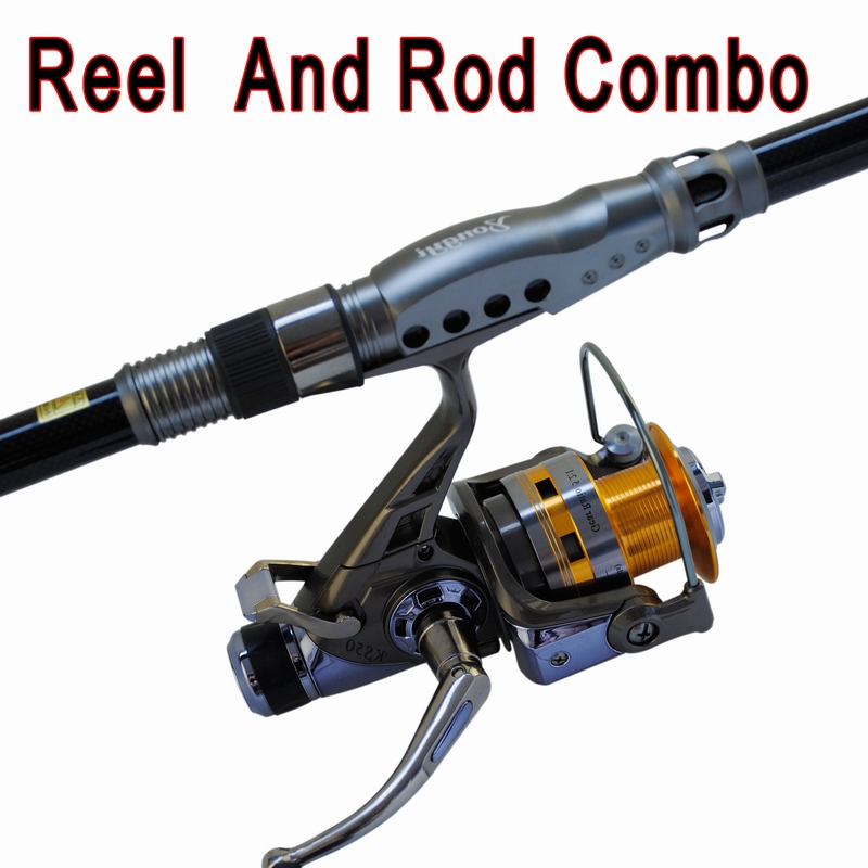 Newest design fishing set  fishing rod and reel combo  Telescopic  fishing rods with  10BB  fishing reel 2015 free shipping 3 6m combo carbon fishing rod sections carp telescopic fishing rod spinning reel casting rod combo set