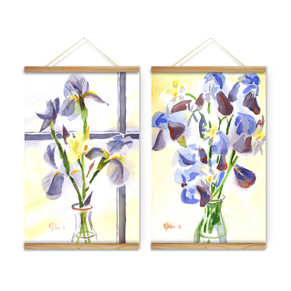 Cabbage Rose Flower Print Purple Abstract Art Kitchen Wall: Online Buy Wholesale Flower Glass Painting From China